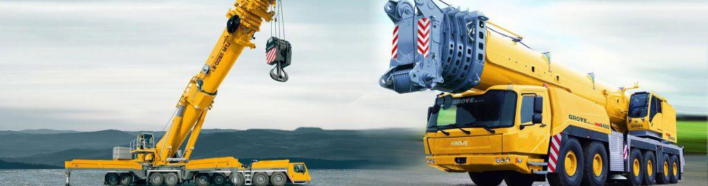 Cho thuê xe cẩu chuyên dụng Kato từ 25 tấn đến 250 tấn