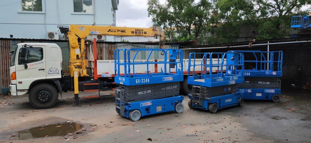Cho thuê xe cẩu các loại tại Bình Dương HCM Long An Bình Phước